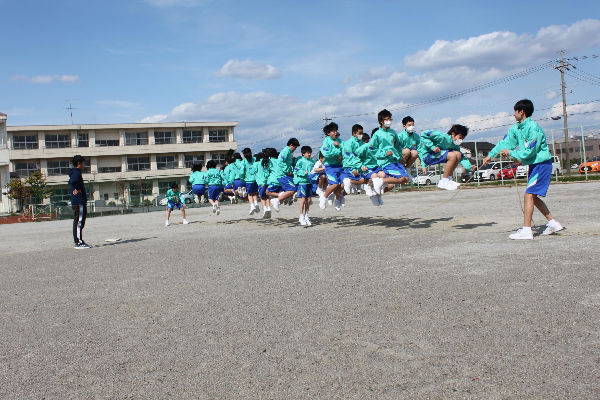 中学校 藤浪